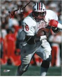 "George Rogers South Carolina Gamecocks Autographed 8"" x 10"" Photograph with ""80"" Inscription - Mounted Memories"