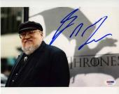 George R.R. Martin Game of Thrones Autographed Signed 8x10 Photo PSA/DNA