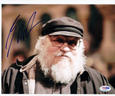 George RR Martin Game of Thrones Creator signed 8x10 photo PSA/DNA