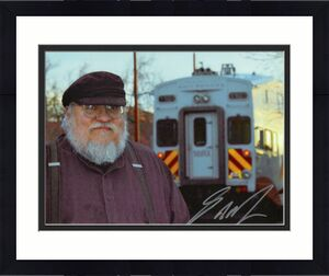George Rr Martin Signed Autograph 8x10 Photo - Game Of Thrones Writer & Creator