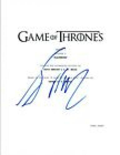 """George R.R. Martin Signed Autograph Game of Thrones """"Blackwater"""" Script COA VD"""