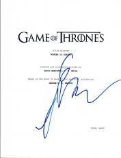 George R.R. Martin Signed Autographed Game of Thrones Pilot Script COA VD