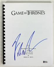 George R.R. Martin Signed Game Of Thrones TV Pilot Script BAS #B51545
