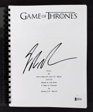 George R.R. Martin Signed Game Of Thrones TV Pilot Script BAS #B51549