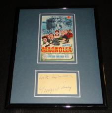 George Sidney Signed Framed 8x10 1951 Show Boat Poster Display