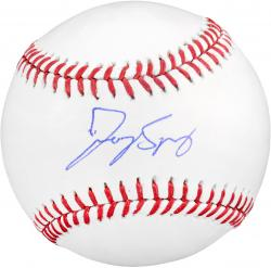 George Springer Houston Astros Autographed Baseball