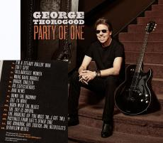 George Thorogood Party of One un-signed cd album w Bonus Track New Sealed
