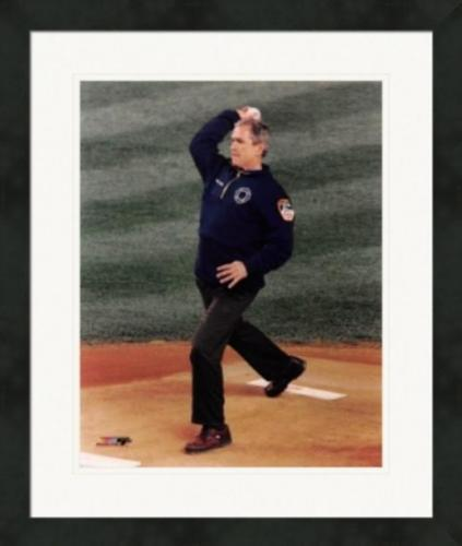 George W. Bush 8x10 photo (43rd President of the United States, 1st Pitch) Image #2 Matted & Framed