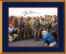George W. Bush Signed 8x10 Original U.S. Navy Photo, Mission Accomplished - PSA