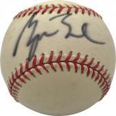 George W Bush Signed Autographed OAL Budig Baseball PSA/DNA Authentic
