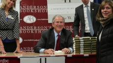 "George W. Bush Signed Book ""41"" Plus Real Photo Proof From Andersons Bookshop"