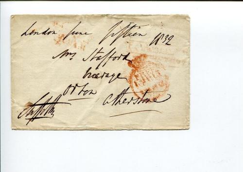 George William Stafford Jerningham 8th Baron Stafford Signed Autograph