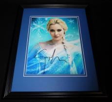 Georgina Haig Signed Framed 8x10 Photo AW Once Upon a Time Frozen Elsa D