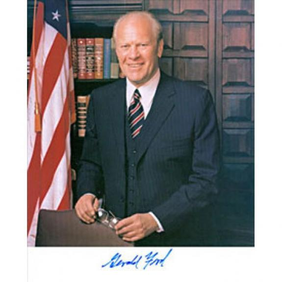 Gerald Ford 38th President Autographed 8x10 Photo