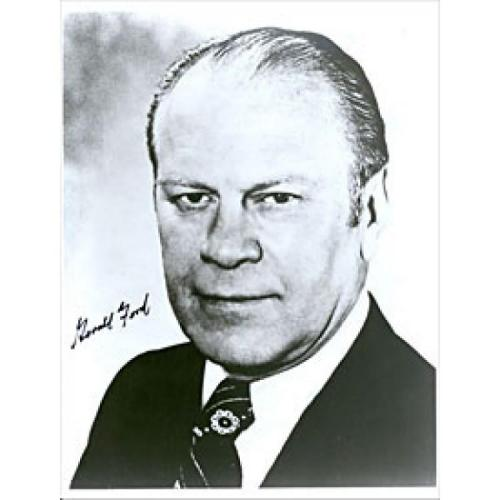 Gerald Ford Autographed 8x10 Photo