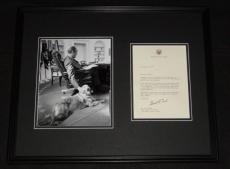 Gerald Ford Signed Framed 1963 Typed Letter & Photo Display JSA