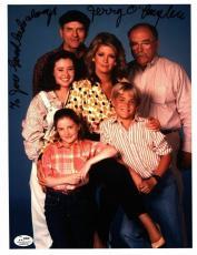 Gerald Jerry O'Loughlin Signed Auto Autograph 8x10 Photo - SGC - Our House
