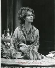 Geraldine Page Broadway Star White Nights Oscar Winner Signed Autograph Photo