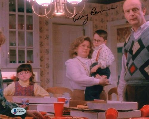Gerry Bamman Signed Home Alone Uncle Frank 8x10 Photo w/Beckett COA Z02616