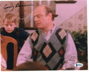 Gerry Bamman Signed Home Alone Uncle Frank 8x10 Photo w/Beckett COA Z02617
