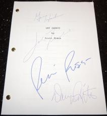 GET SHORTY Signed - Autographed Full Script by John Travolta, Gene Hackman, Danny DeVito, and Rene Russo - Guaranteed to pass PSA or JSA