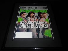 Ghostbusters Framed 11x14 ORIGINAL 2016 Entertainment Weekly Magazine Cover