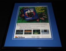 Ghostbusters II 1990 NES Nintendo 11x14 Framed ORIGINAL Vintage Advertisement
