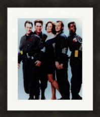 Ghostbusters Movie Cast 8x10 photo (Bill Murray, Dan Aykroyd & Sigourney Weaver) Matted & Framed