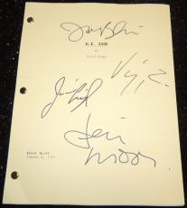 G.I. Jane Autographed Full Script by Demi Moore, Jason Beghe, Viggo Mortensen, and Jim Caviezel