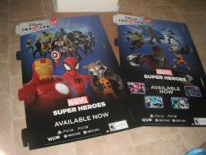 """Giant Disney Infinity Guardians of the Galaxy 2.0 Marvel Standee 2014 34.""""x63"""
