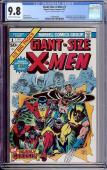 Giant Size X-men #1 Cgc 9.8 Oww Stan Lee Signed On The 1st Page Cgc #1229769008