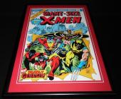 Giant Size X Men #1 Framed 12x18 Cover Photo Poster Display Official Repro