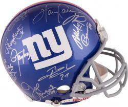 New York Giants Greats Autographed Proline Helmet with 13 Signatures