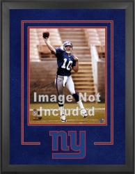 New York Giants Deluxe 16'' x 20'' Vertical Photograph Frame with Team Logo - Mounted Memories