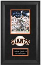 "San Francisco Giants Deluxe 8"" x 10"" Team Logo Frame - Mounted Memories"