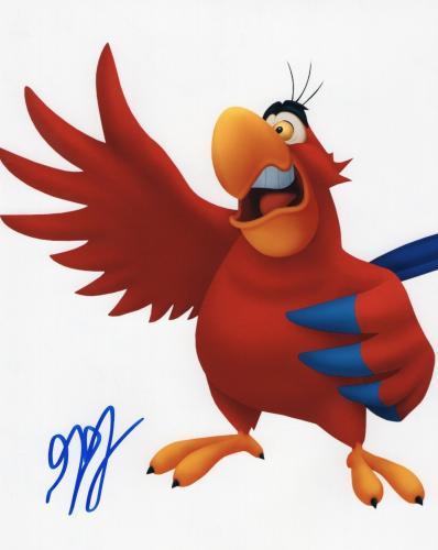 Gilbert Gottfried signed 8x10 Photograph w/COA Aladdin Aflac