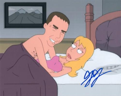 Gilbert Gottfried signed 8x10 Photograph w/COA Aladdin Aflac Lago Family Guy