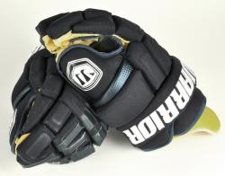 Tom Gilbert Florida Panthers Game-Used Warrior Bonafide Hockey Gloves - Mounted Memories