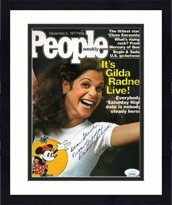 Gilda Radner Jsa Coa Autograph 8x10 Photo Hand Signed