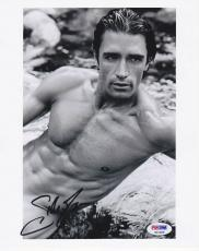 Gilles Marini SIGNED 8x10 Photo Dante Sex and the City PSA/DNA AUTOGRAPHED