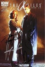 Gillian Anderson Chris Carter signed auto autographed X-Files Season 10 #2 comic