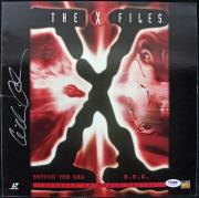 Gillian Anderson The X-Files Signed Laserdisc Cover PSA/DNA #J00716