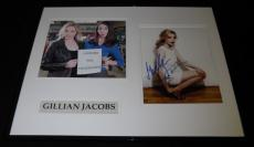 Gillian Jacobs Signed Framed 16x20 Photo Set AW Community w/ Alison Brie