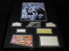 Gilligan's Island Cast Signed Framed 16x20 Photo Set JSA