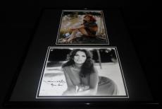 Gilligan's Island Ginger & Mary Ann Dual Signed Framed 16x20 Photo Set JSA
