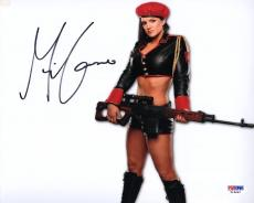 Gina Carano SIGNED 8x10 Photo Fast and Furious MMA PSA/DNA AUTOGRAPHED