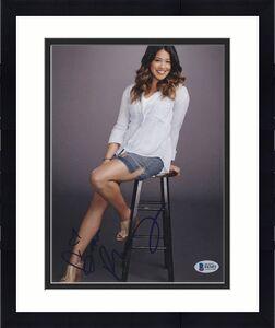 Gina Rodriguez Signed 8x10 Photo Jane Virgin Beckett Bas Autograph Auto Coa B