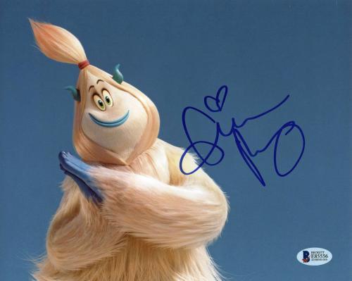 Gina Rodriguez Smallfoot Signed 8x10 Photo Autographed BAS #E85556
