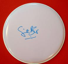 "Ginger Baker Cream Signed Autographed 12"" Drumhead Blind Faith + Proof A"