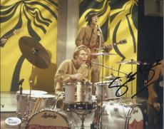 Ginger Baker Signed Authentic 8x10 Photo Cream Jsa Coa